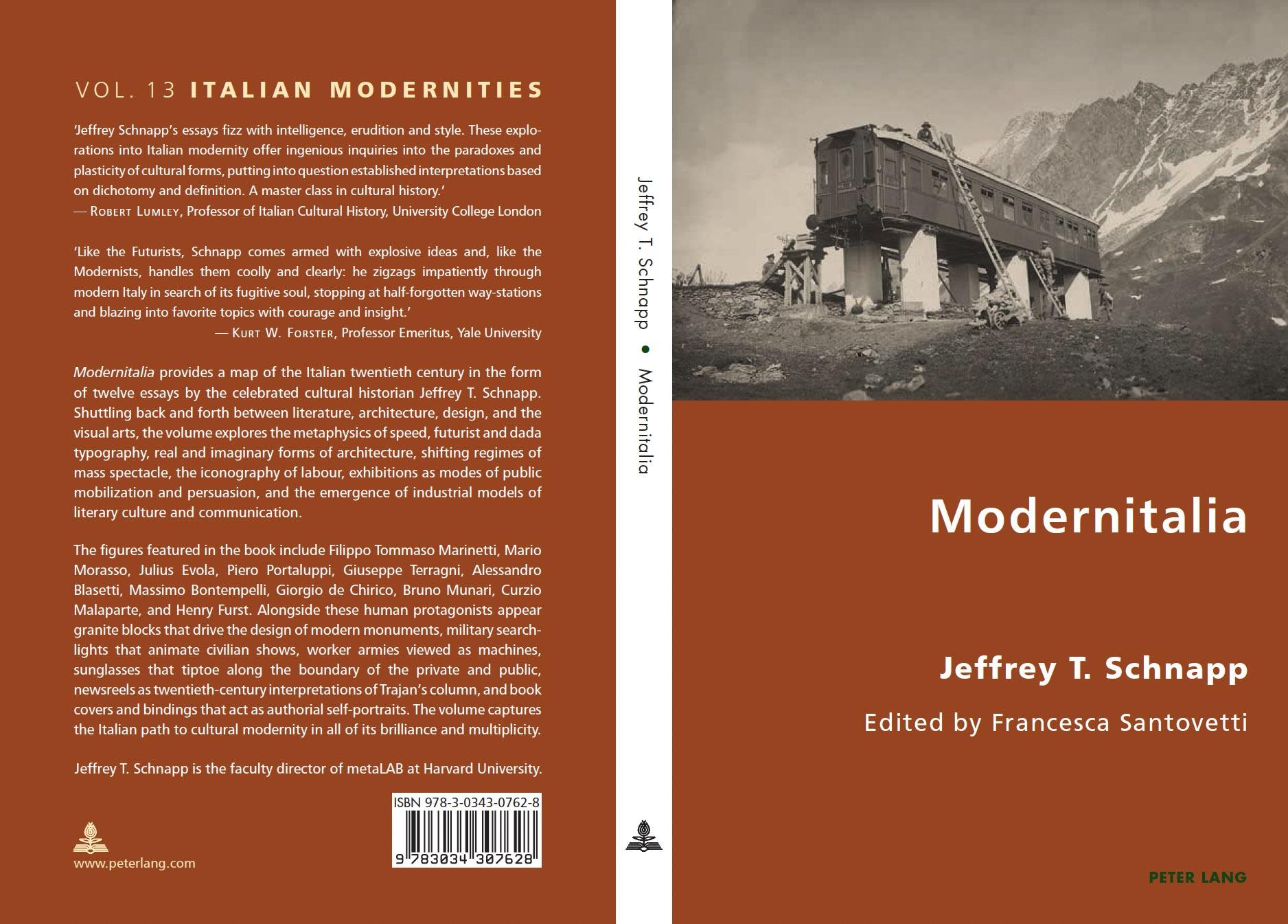 Modernitalia | Jeffrey Schnapp